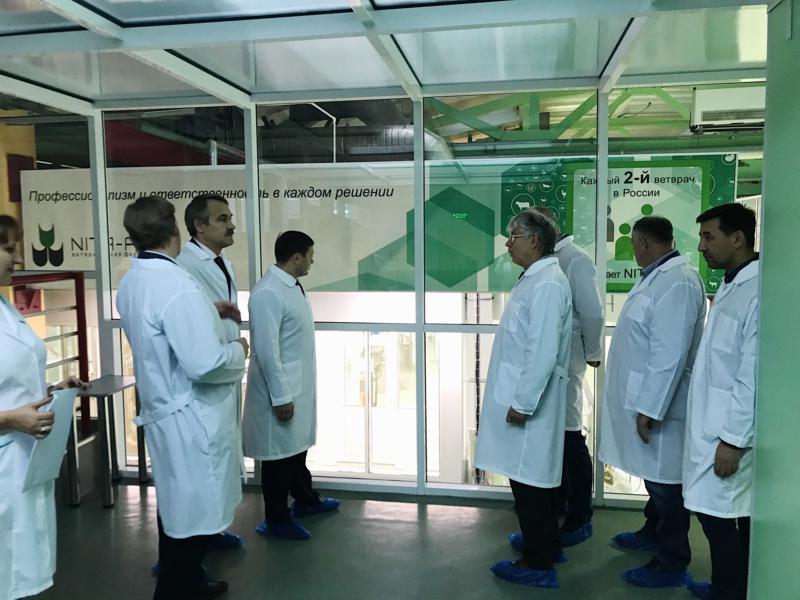 Министр промышленности и энергетики области Архипов А. посетил NITA-FARM - изображение NITA FARM